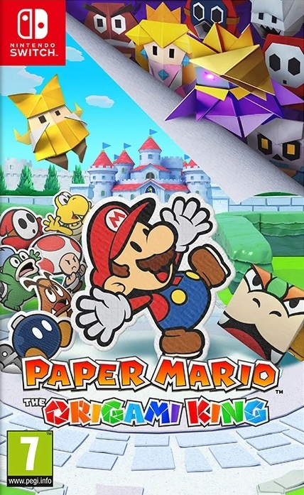 Paper Mario : The Origami King sur Switch