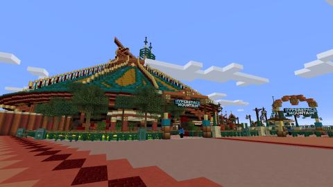 Minecraft : visitez Disneyland Paris dans le jeu, notre guide