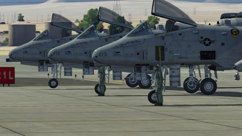 Utiliser les missiles Air-to-Air