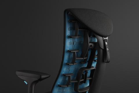 Embody : un fauteuil gaming très onéreux par Logitech G et Herman Miller