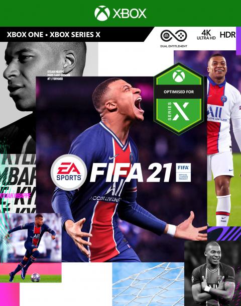 FIFA 21 sur Xbox Series