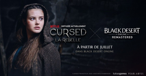 [MàJ] Black Desert : Un crossover en préparation avec la série Netflix Cursed