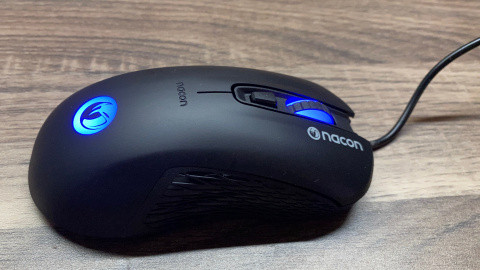 Test Nacon GM-110 : La souris gamer à 15 euros