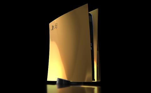PS5 : Une version plaquée or sortira chez Truly Exquisite