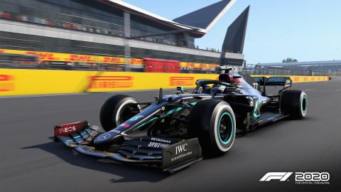 F1 2020 se met à jour sur PC et change la livrée de la Mercedes-AMG F1 W11