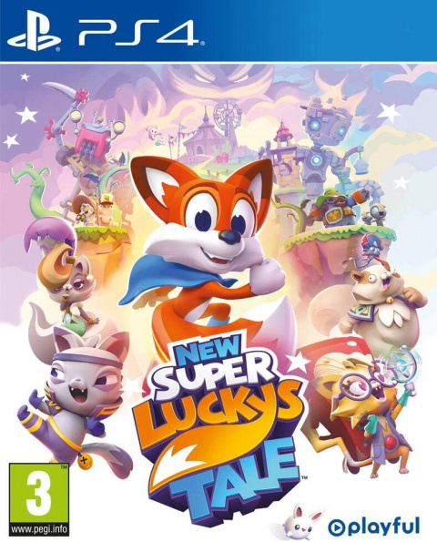 New Super Lucky's Tale sur PS4
