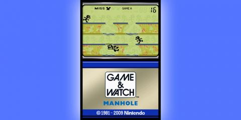 Game & Watch : Manhole sur DS