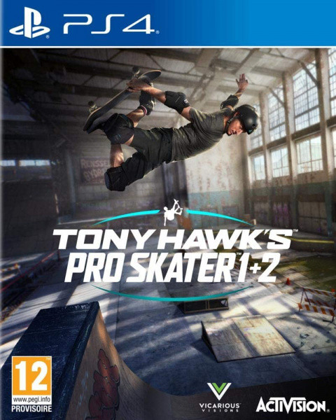 Tony Hawk's Pro Skater 1+2 sur PS4