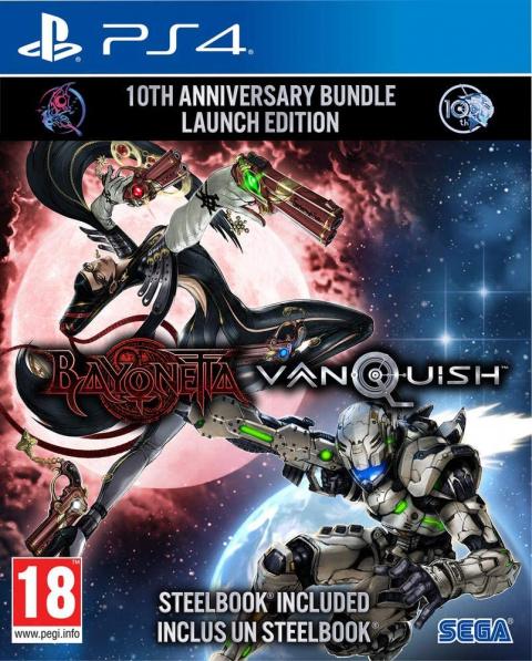 Promo Amazon : Bayonetta & Vanquish 10th Anniversary édition Day One en réduction de 25%