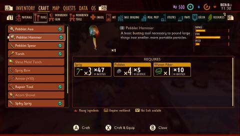 Comment fabriquer un marteau ?