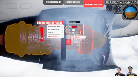 Flight Catastrophe : Le jeu de simulation d'incident aérien s'annonce en vidéo