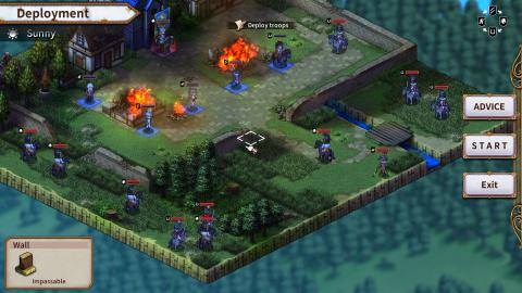 Banner of the Maid : Le Tactical-RPG fait le tour de ses fonctionnalités