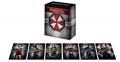 [MàJ] Resident Evil : La saga cinématographique en coffret 4K Ultra HD pour novembre