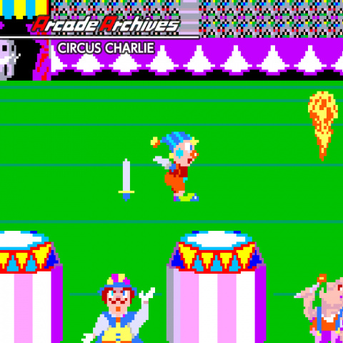 Arcade Archives Circus Charlie sur Switch