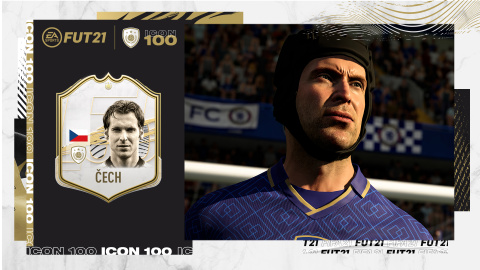 Petr Cech - FIFA 21 Icône