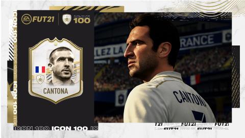 Eric Cantona - Icône FIFA 21
