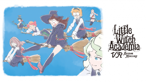 Little Witch Academia: VR Broom Racing sur PC