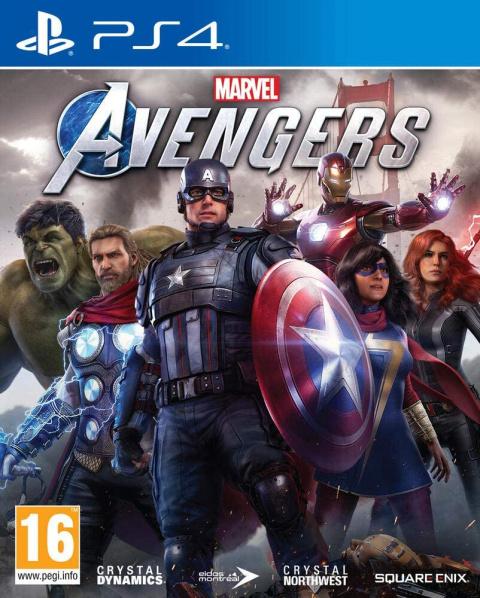 Marvel's Avengers sur PS4