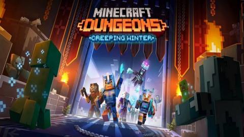 Minecraft Dungeons : Creeping Winter sur PC