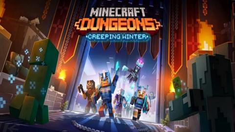 Minecraft Dungeons : Creeping Winter sur Switch