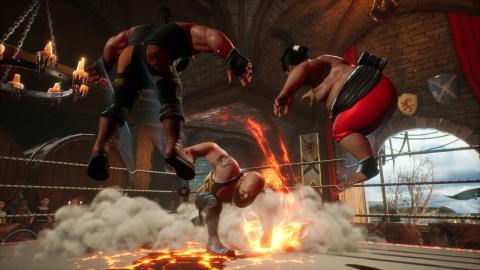 WWE 2K Battlegrounds présente ses modes de jeu en vidéo