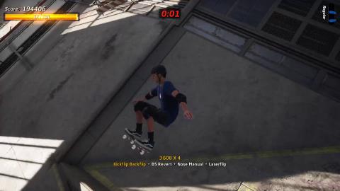 Tony Hawk's Pro Skater 1+2 : Tout roule pour la refonte des origines de la série