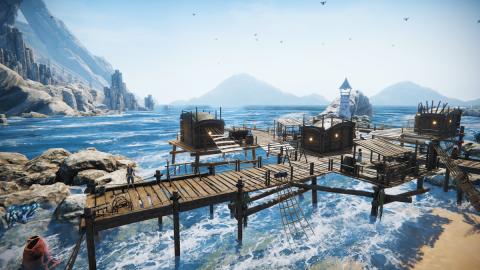 Edge of Eternity se trouve une nouvelle fenêtre de sortie sur PC et consoles