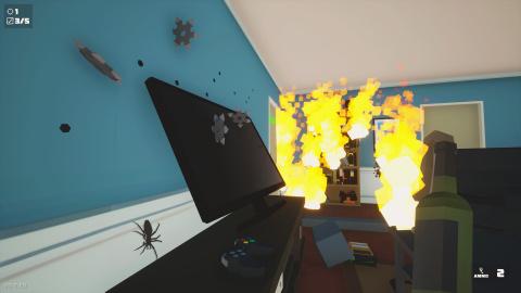 Kill it With Fire : Éliminez les araignées avec tout ce qui vous passe par la main