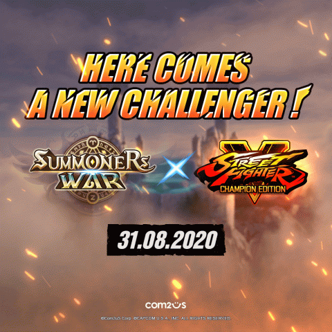 Summoners War : Sky Arena - Une collaboration avec Street Fighter V : Champion Edition annoncée