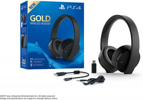 Promo PS4 : Le casque Gold sans fil de Sony en promotion sur Amazon