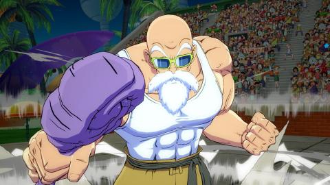 Dragon Ball FighterZ : Tortue Géniale déboule en images