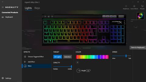 Test du clavier HyperX Alloy Elite 2: une valeur sûre, avec encore plus de couleurs
