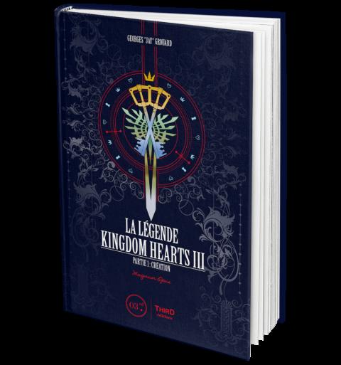 Kingdom Hearts III décrypté dans un ouvrage de Third Editions