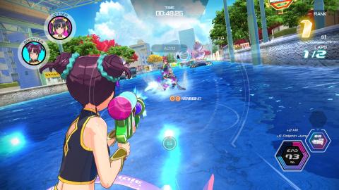 Kandagawa Jet Girls : Le jeu de jet ski à l'ambiance anime est disponible