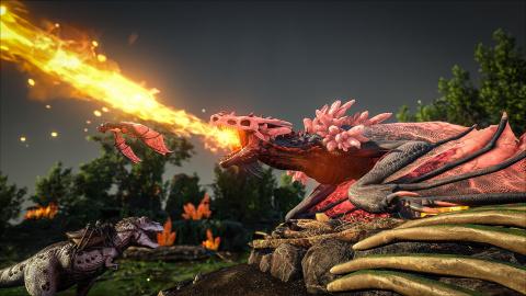 ARK : Survival Evolved : Les Crystal Isles arrivent gratuitement sur consoles