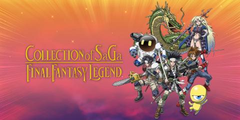 Collection of SaGa : Final Fantasy Legend sur Switch