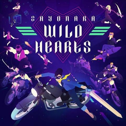 Sayonara Wild Hearts sur PS4
