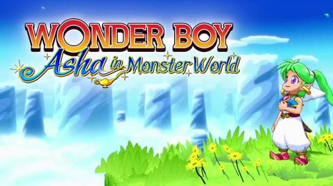 Wonder Boy : Asha in Monster World sur PS4