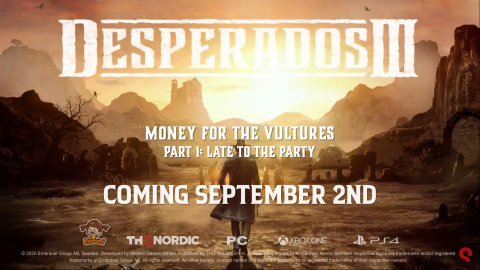 Desperados III : Money for the Vultures – Part 1: Late to the Party sur PS4