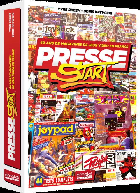 Presse Start : La presse jeu vidéo à l'honneur dans un ouvrage signé Omaké  Books - Actualités