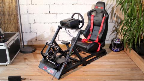 Test du cockpit Next Level Racing GTtrack : Sérieux et évolutif