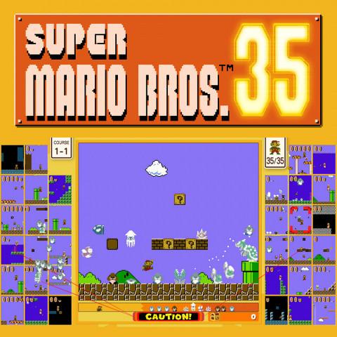 Super Mario Bros. 35 sur Switch