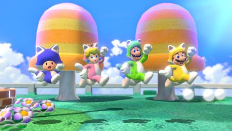 Super Mario 3D World + Bowser's Fury arrive en février 2021 sur Nintendo Switch