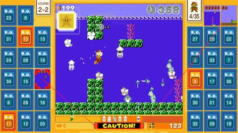 Super Mario Bros. 35, solution complète