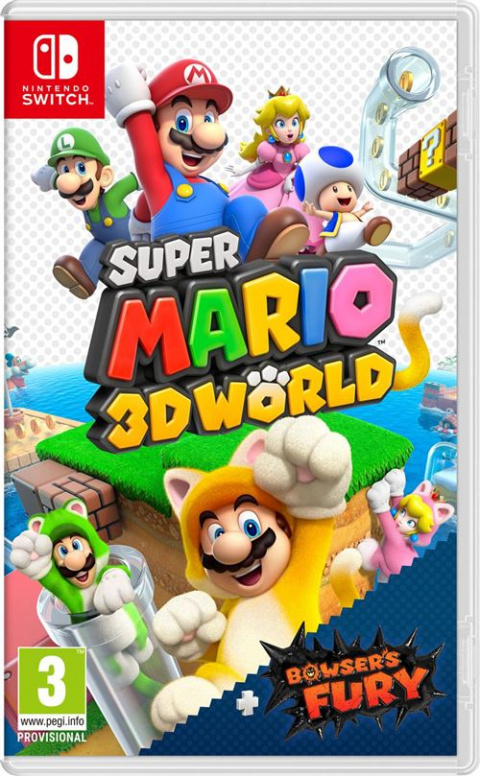Offre Fnac: 15€ offerts pour les précommandes des jeux Mario
