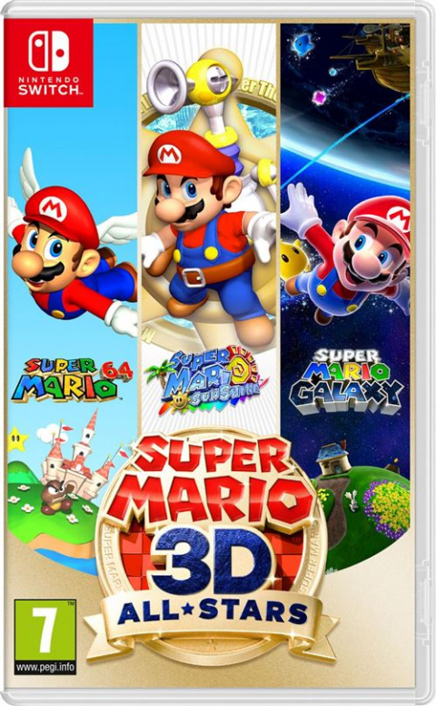 Promo E.Leclerc: Super Mario 3D All-Stars à 44,49€