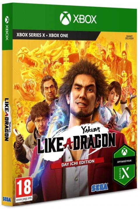 Yakuza : Like a Dragon sur Xbox Series