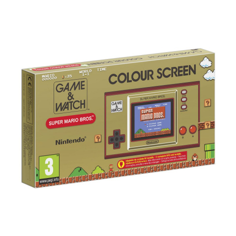 Promo Auchan: Game & Watch Super Mario Bros System à -14%
