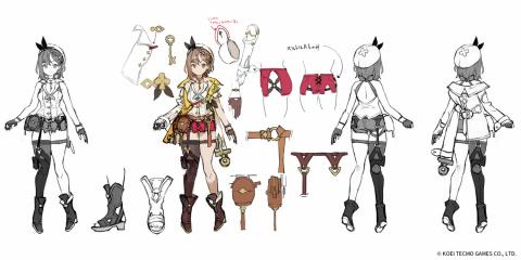 Atelier Ryza 2 : Koei Tecmo fait le plein d'artworks