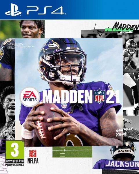 Madden NFL 21 sur PS4